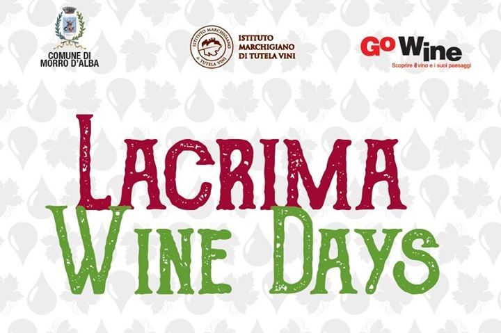 Lacrima Wine Days 2017, 8-9 luglio a Morro d'Alba