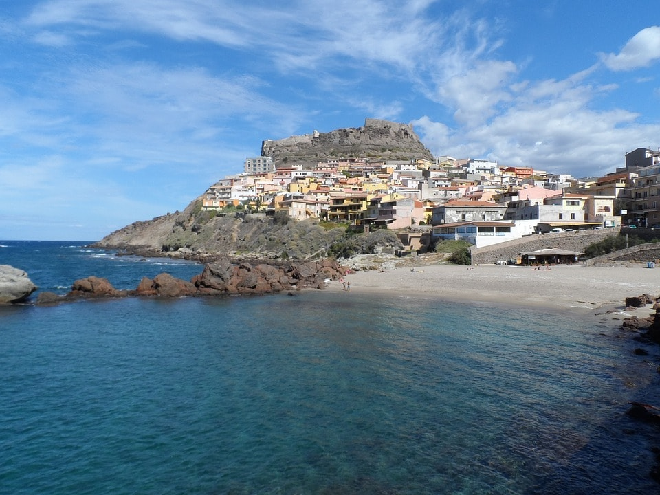 Castelsardo, sul Golfo dell'Asinara in Sardegna