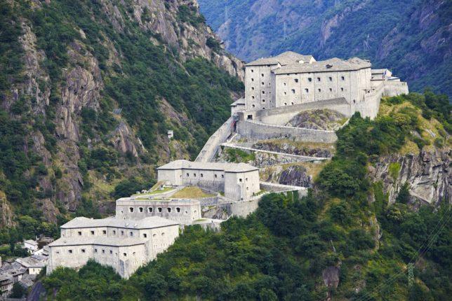 Bard: residenza storica di famiglie reali